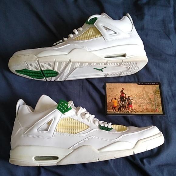 Air Jordan 4 Retro Classic Green